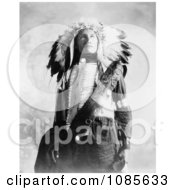 Sioux Indian Named Plenty Holes Free Historical Stock Photography