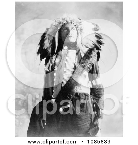 Sioux Indian Named Plenty Holes - Free Historical Stock Photography by JVPD