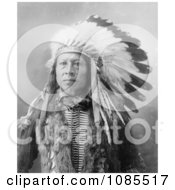 Sioux Indian Named Stampede Free Historical Stock Photography
