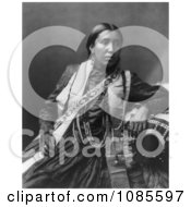 Sioux Indian Woman Susan Frost Free Historical Stock Photography