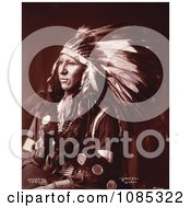 Sioux Native American Indian Shout At Free Historical Stock Photography by JVPD