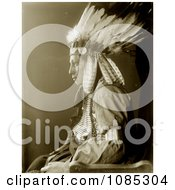 Sioux Native American Man Named Whirling Hawk Free Historical Stock Photography by JVPD