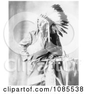 Sioux Native American Named Bird Head Free Historical Stock Photography by JVPD