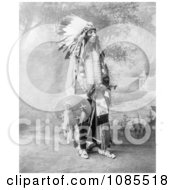 Sioux Native American Named Turning Bear Free Historical Stock Photography by JVPD