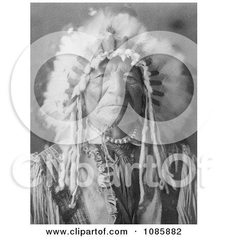 Sitting Bear, Arikara Native Man - Free Historical Stock Photography by JVPD