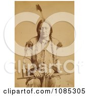 Sitting Bull With Peace Pipe Free Historical Stock Photography by JVPD