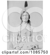 Sitting Bull With Peace Pipe Free Historical Stock Photography