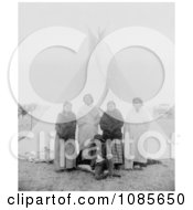 Sitting BullS Family Free Historical Stock Photography by JVPD