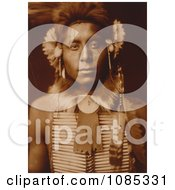Sitting Eagle A Crow Indian Man Free Historical Stock Photography