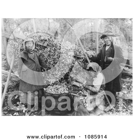 Siwash Indian Hop Pickers - Free Historical Stock Photography by JVPD