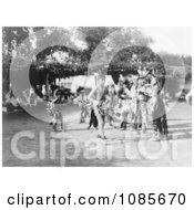Skidi And Wichita Indian Dancers Free Historical Stock Photography
