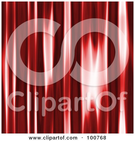 Royalty-Free (RF) Clipart Illustration of a Shiny Red Texture Background by Arena Creative