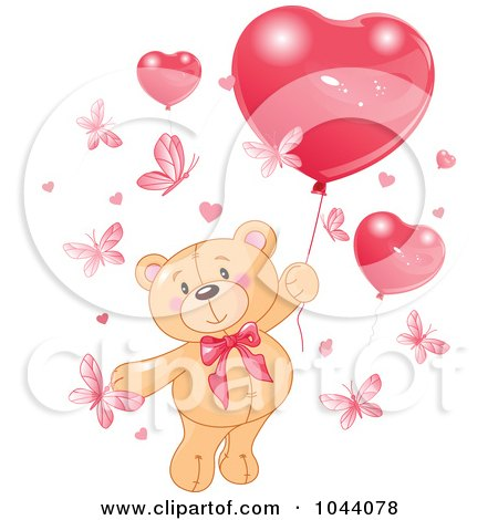 Free Valentine Clipart on Royalty Free  Rf  Clip Art Illustration Of A Valentine Teddy Bear With