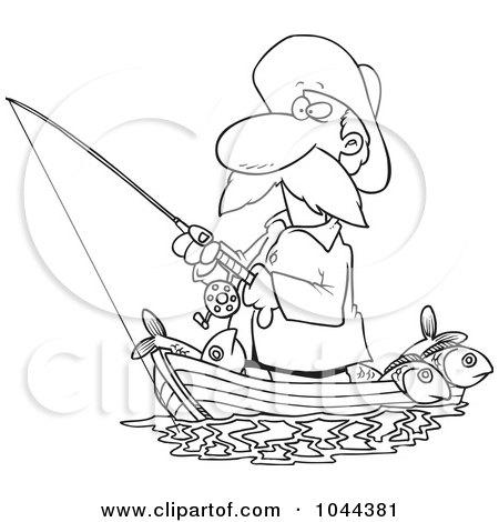 royaltyfree rf clip art illustration of a cartoon black