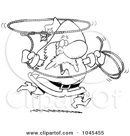 Royalty-Free (RF) Clipart of Lassos, Illustrations, Vector Graphics #1