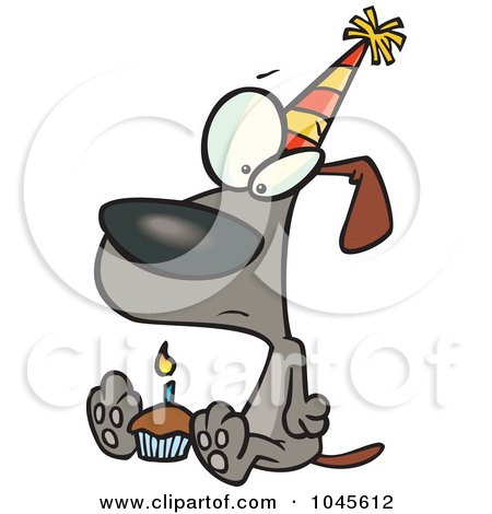 birthday cupcakes cartoon. a Cartoon Lonely Birthday