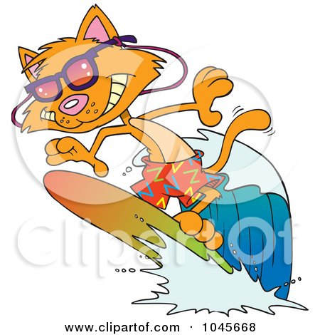 Royalty Free Rf Clip Art Illustration Of A Cartoon