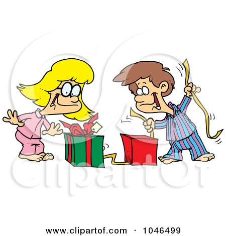 Royalty-Free (RF) Clip Art Illustration of a Cartoon Boy ...
