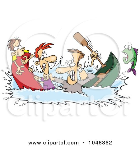 Royalty-Free (RF) Canoe Clipart, Illustrations, Vector ...