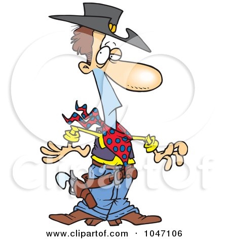Cartoon Western Clip Art