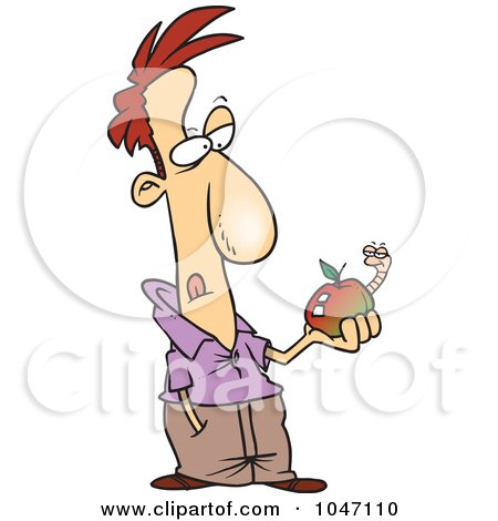 Avery cartoon isolated over white background stock photos fun grungy