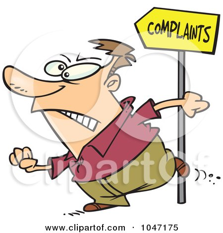 Royalty Free RF Complaint Clipart Illustrations Vector