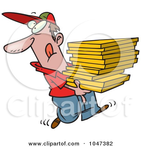 delivery driver clip art - photo #45