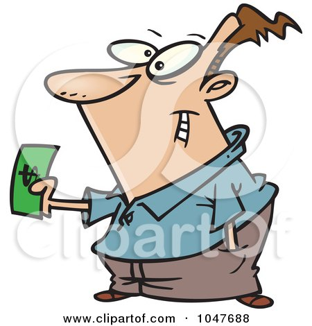 Making a Purchase Clip Art