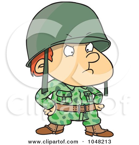 free soldier clipart. Royalty-free clipart picture