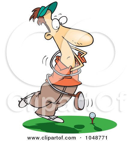 male golfer with a twisted club clipart illustration by funny golf clip art sayings funny golf clip art sayings