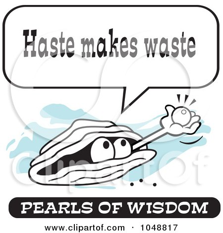 Pearls of Wisdom Clip Art
