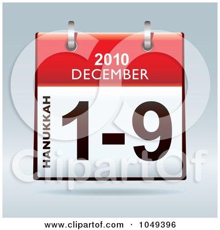 Countdown To Hanukkah 2016 | Calendar Template 2016