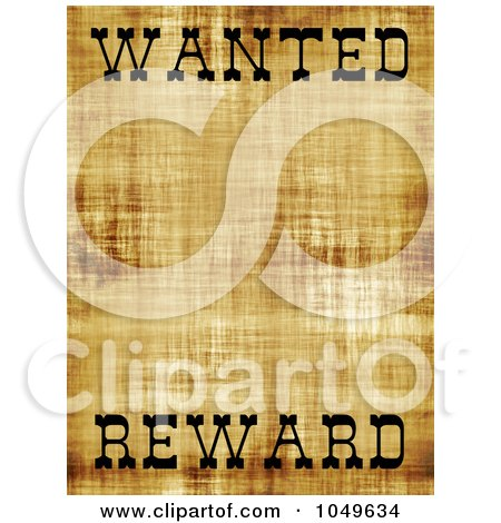 Wanted Poster Template  54 Free Printable Word