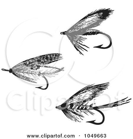Royalty-Free (RF) Fly Fishing Hook Clipart, Illustrations, Vector ...