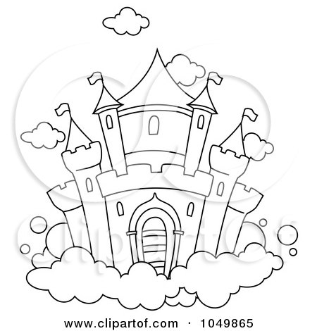 free inner castle coloring pages - photo#9