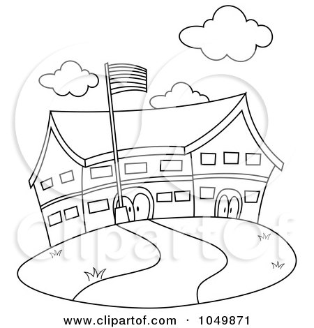 elementary school coloring pages - photo#46