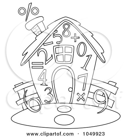 RoyaltyFree RF Clipart of Mathematical