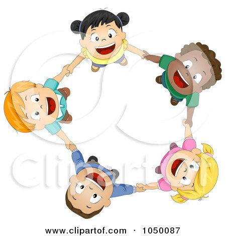 royalty free rf clip art illustration of diverse kids holding rh clipartof com Black and White Hands Black and White Road