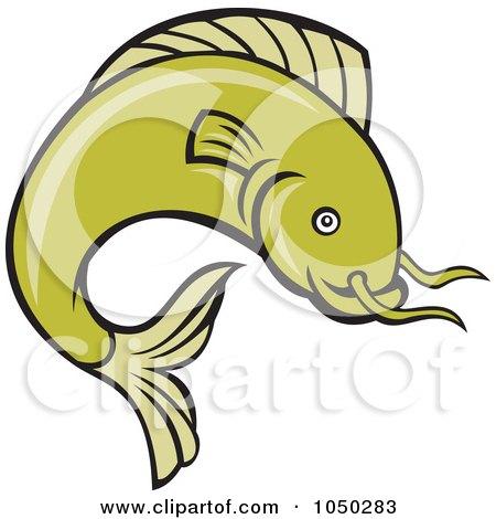 Royalty-Free (RF) Green Catfish Clipart, Illustrations, Vector ...