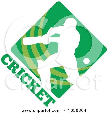 Professional Player Logo Cricket Player Logo 1