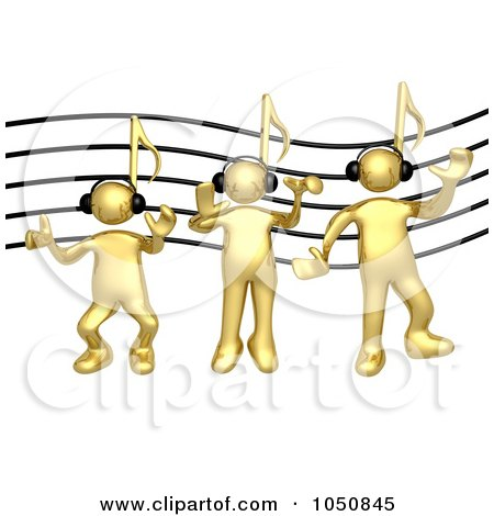 Gold Music Note Images