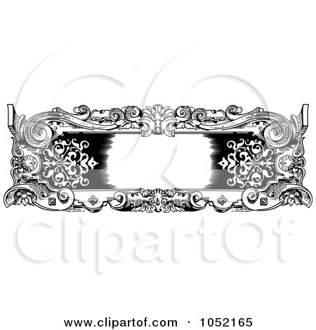 Baroque Frame Clipart Free Vector Graphics Download And Pictures