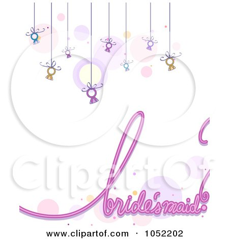 Royalty-Free (RF) Bridesmaid Clipart, Illustrations, Vector ...
