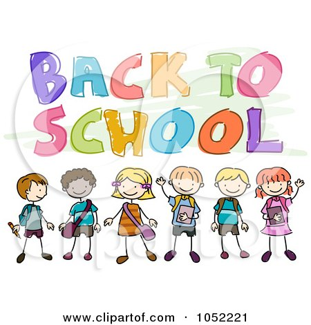 Free Clipart Vector on Royalty Free Vector Clip Art Illustration Of Doodled Back To School