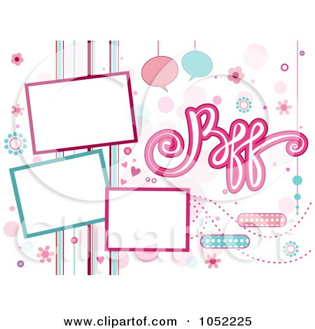 Royalty-Free (RF) Bff Clipart, Illustrations, Vector ...