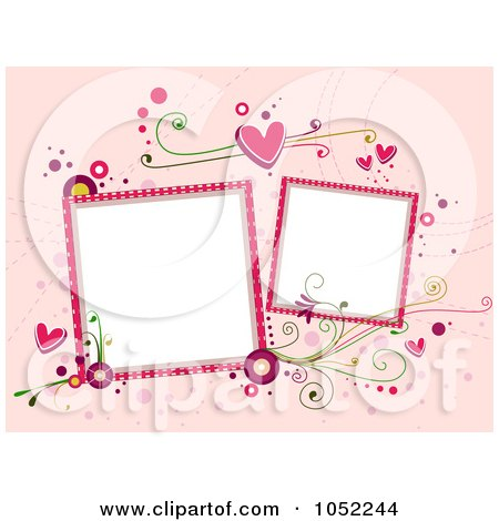 450 x 470 jpeg 157kB, Day Background With Two Blank Frames On Pink by ...