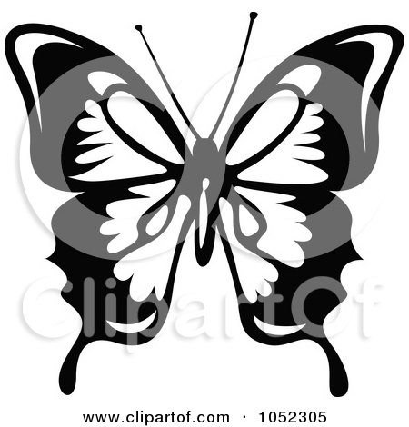 a2d6eaf7d Black And White Flying Butterfly Logo - 4 Posters, Art Prints by ...