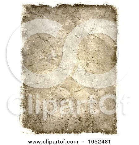 Royalty-Free 3d Clip Art Illustration of a 3d Grunge Texture Paper by KJ Pargeter