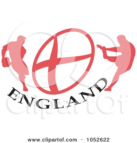 Royalty-Free (RF) England Rugby Clipart, Illustrations, Vector ...
