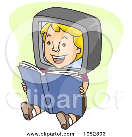 Download Royalty Free Electronic Book Clipart Illustrations Vector